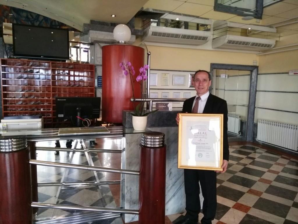 g. Radovan Lazić, voditelj hrane i pića, Grand hotel Adriatic Opatija