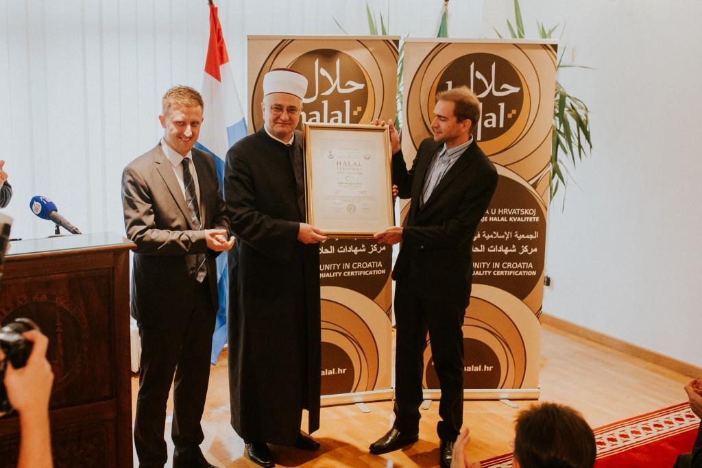 100. halal certifikat dodijeljenj poduzeću Ljekovite gljive d.o.o.