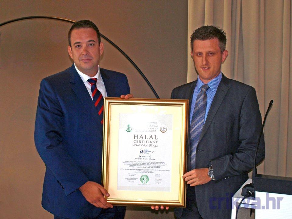 Predsjednik Uprave Jadran d.d. i rukovoditelj Centra za certificiranje halal kvalitete