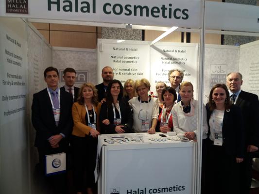 Izložbeni štand Mille d.o.o, hrvatski proizvođač halal kozmetike