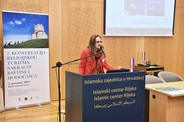mr.sc. Edina Mešić, Islamska zajednica u Hrvatskoj, predstavnik za kvalitetu Centra za certificiranje halal kvalitete