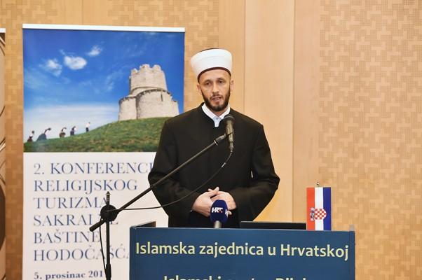 Hidajet efendija Hasanović, v.v. glavnog imama Medžlisa Islamske zajednice u Rijeci